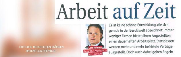 Interview Arbeitsrecht - Rechtsanwalt Kohnen