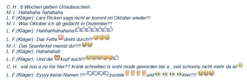 Emoticons auf Facebook führen zu Kündigung