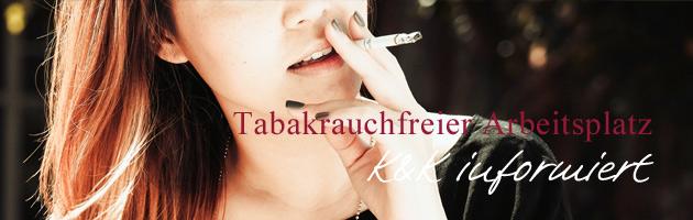 Tabak rauchfreier Arbeitsplatz